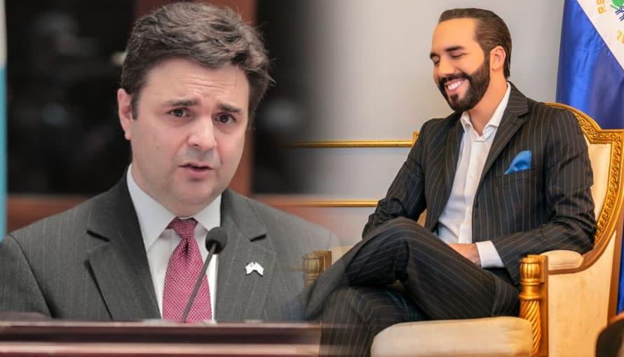Ricardo Zúñiga reconoce que las decisiones tomadas por el Gobierno de Bukele son exclusivas de un país soberano