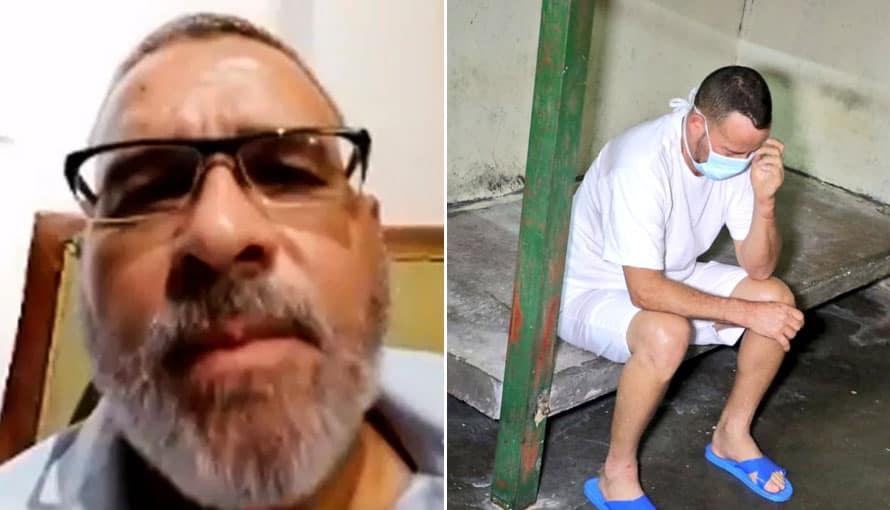 Mauricio Funes expresa su molestar por la celda que le asignaron a su suegro