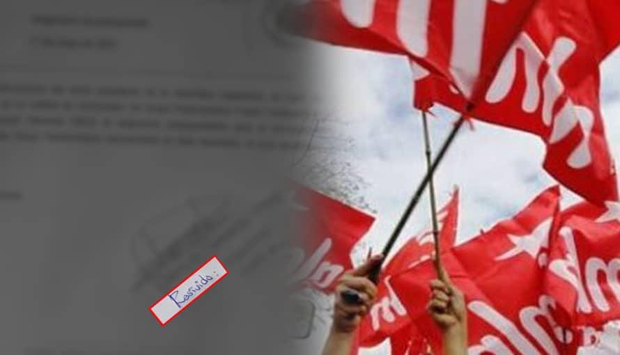 """FMLN deja ver su ignorancia al escribir la palabra """"resivido"""" y es criticado en redes sociales"""