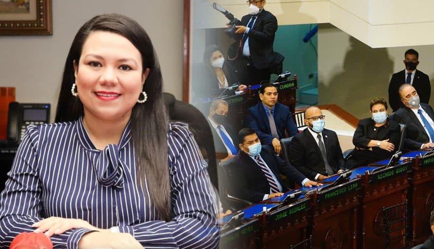 """Anabel Belloso dice que """"la esquina"""" representa la resistencia y dignidad contra Nayib Bukele"""