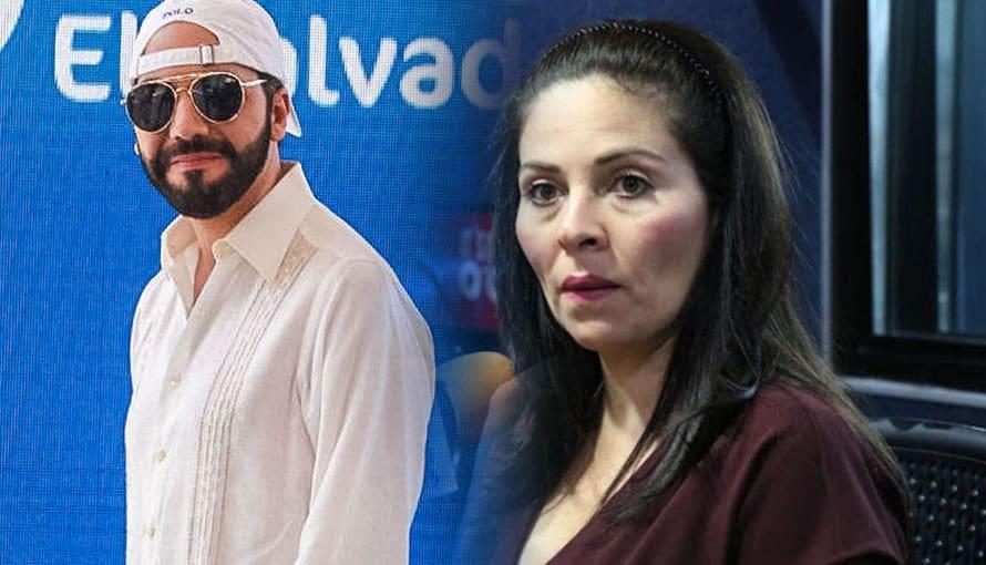 Bertha Deleón asegura que no se enamoraría de Nayib Bukele por ser fastidioso