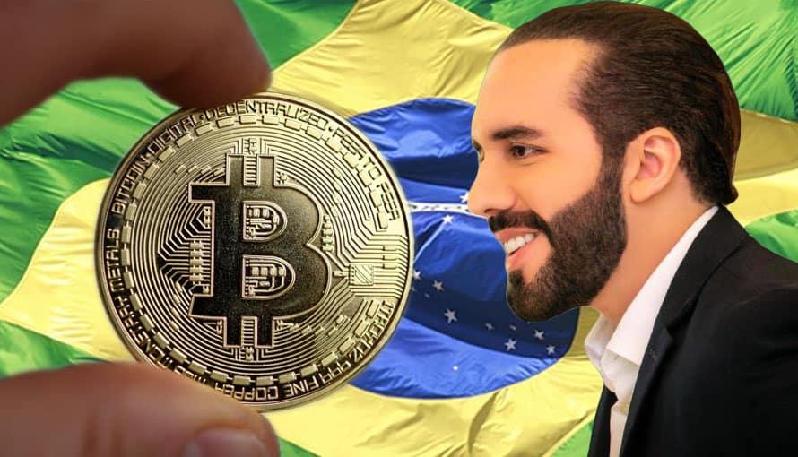 Brasil busca imitar a El Salvador adoptando el Bitcoin como moneda de curso legal
