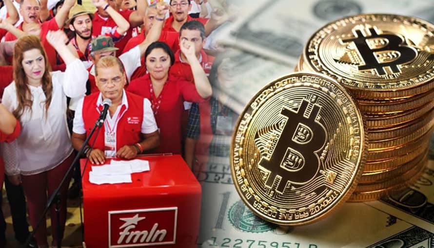 "FMLN busca desinformar a los salvadoreños con respecto al ""cambio de moneda"" a Bitcoin"