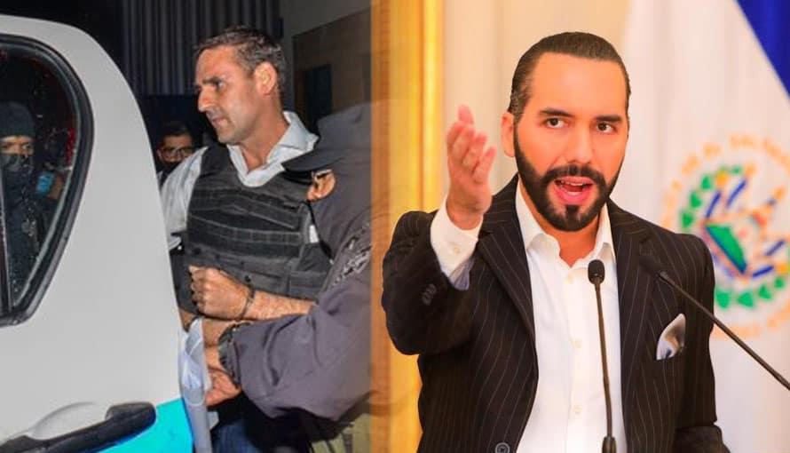 Gobierno de Bukele informa que captura de Muyshondt es sólo el inicio del combate a la corrupción en El Salvador