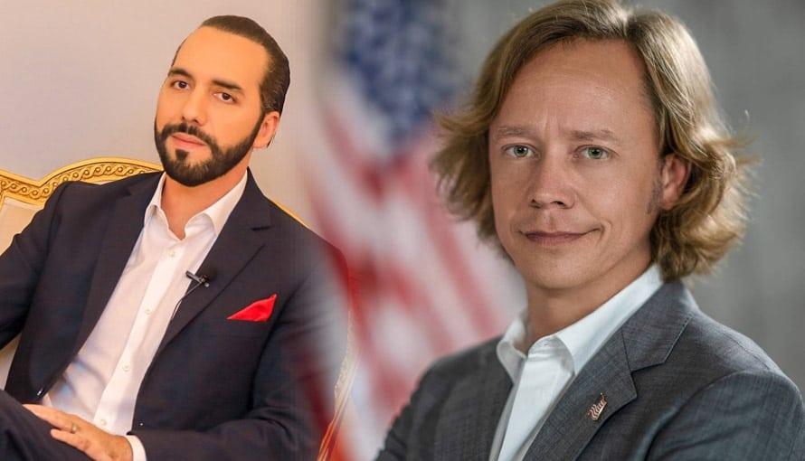 Excandidato presidencial de EE.UU. anuncia que visitará  El Salvador y compartirá maravillosas noticias