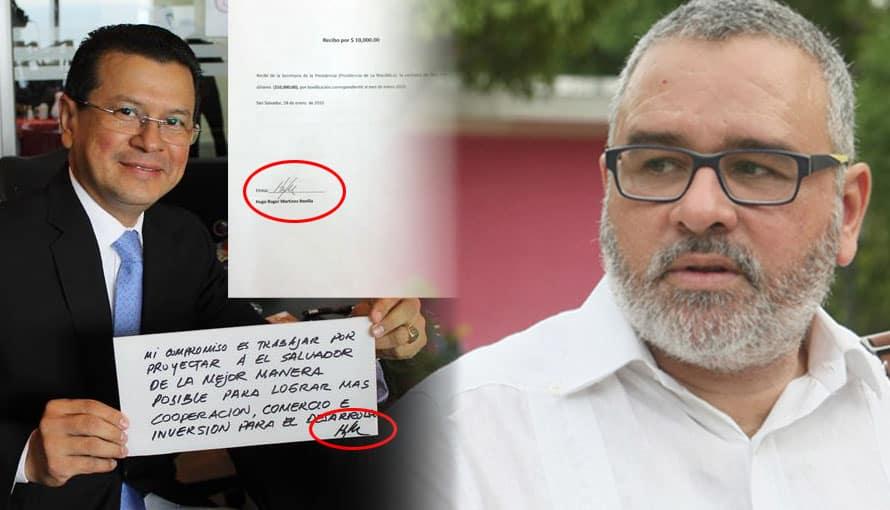 Mauricio Funes teme que se investiguen los sobresueldos entregados en su gestión