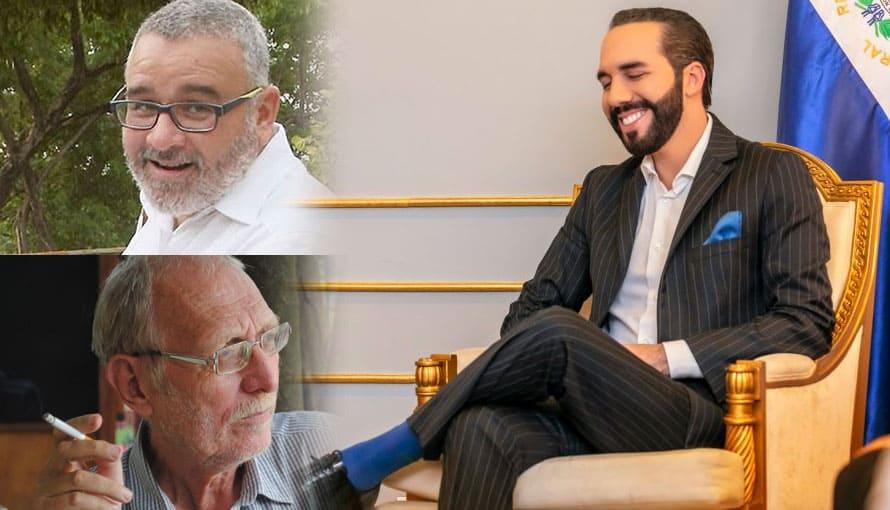 """Funes propone a Paolo Lüers crear un """"movimiento de rebeldía"""" para derrotar a Nayib Bukele"""