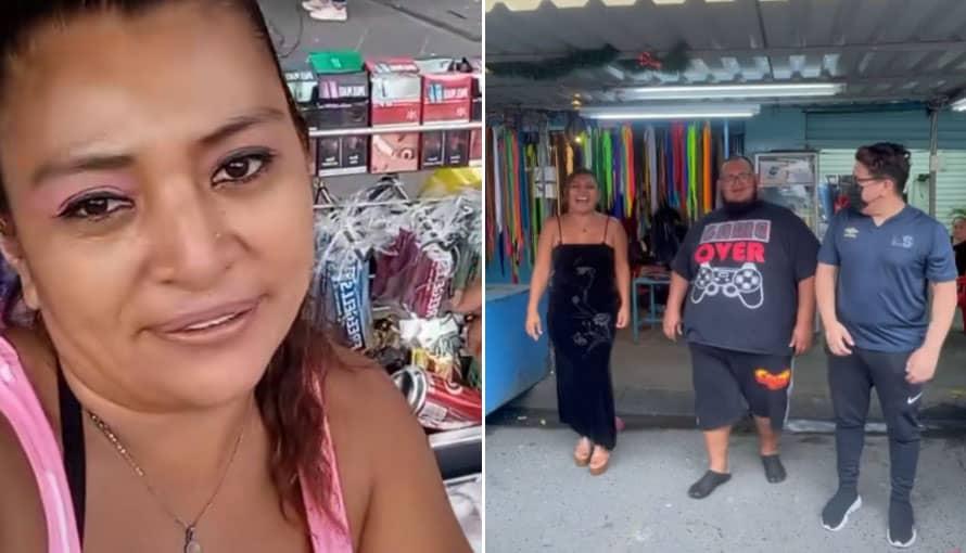 Yanira Berrios es la TikToker salvadoreña que te reta a igualar la velocidad de su baile viral