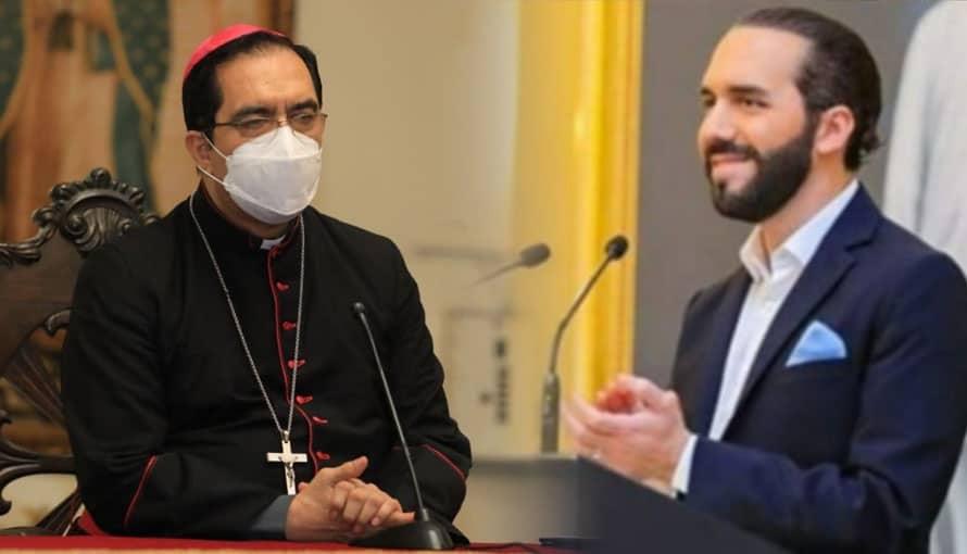 """""""Nos llena de alegría el anuncio del Presidente Bukele de proteger la familia y el embarazo"""", afirmó Monseñor Luis Alas"""